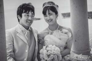 photographie de mariage Noir et blanc